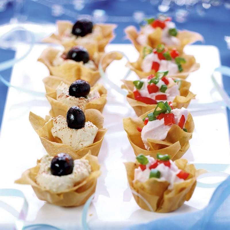 Receita de canap s vegetarianos receitas de comidas for Canapes simples e barato
