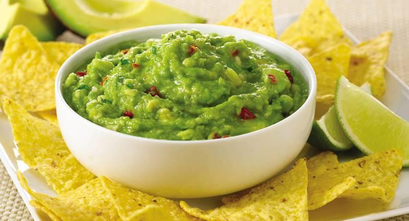 guacamole-tortilhas